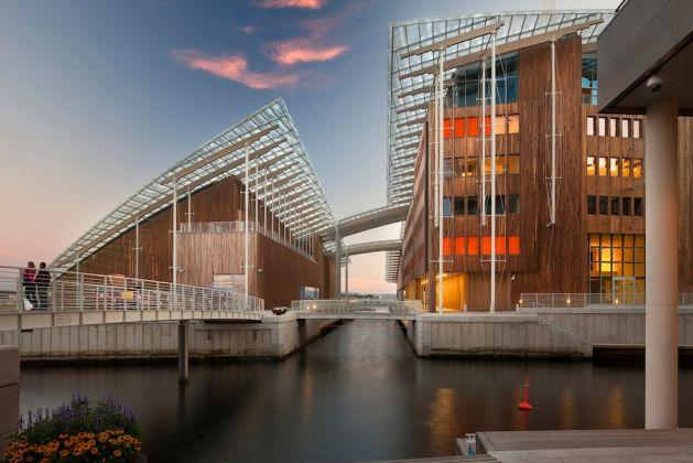 O bonito edifício de Renzo Piano foi inaugurado no final de 2012.