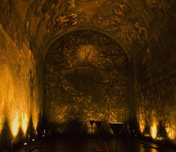 ...e o impressionante afresco Vita,  no Emanuel Vigeland Museum.